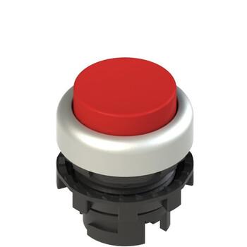 E2 1PL2S3290 Pizzato Elettrica Красная выступающая кнопка с подсветкой