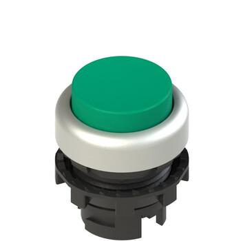 E2 1PL2S4290 Pizzato Elettrica Зеленая выступающая кнопка с подсветкой