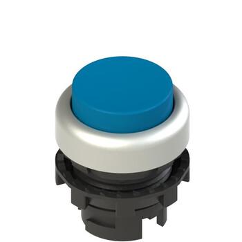 E2 1PL2S6290 Pizzato Elettrica Синяя выступающая кнопка с подсветкой