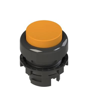 E2 1PL2S8210 Pizzato Elettrica Оранжевая выступающая кнопка с подсветкой