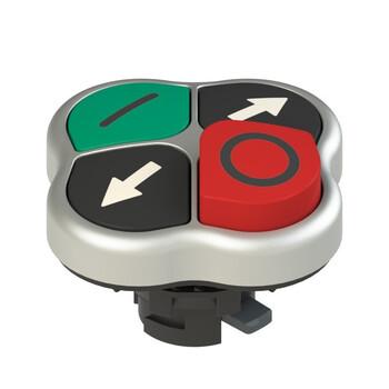 E2 1PQHA9QAAK Pizzato Elettrica Четверная кнопка