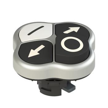 E2 1PQHA9QAAL Pizzato Elettrica Четверная кнопка