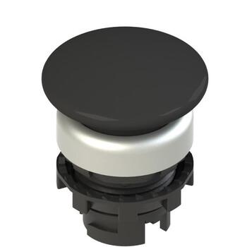 E2 1PU2F1490 Pizzato Elettrica Черная грибовидная кнопка с пружинным возвратом