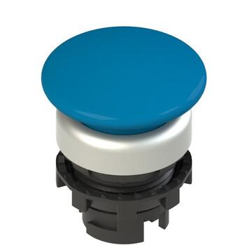 E2 1PU2F6490 Pizzato Elettrica Синяя грибовидная кнопка с пружинным возвратом