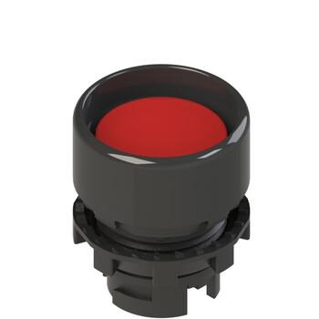 E2 1PU2P3210 Pizzato Elettrica Красная вдавленная кнопка с пружинным возвратом